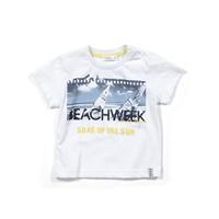 Zeyland Erkek Çocuk Beyaz T-Shirt - K-61M1MLS53