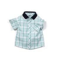 Zeyland Erkek Çocuk Yeşil Kareli Gömlek - K-61M1MLS82