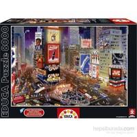 Educa 8000 Parça Puzzle Times Meydanı'nda Bir Akşam