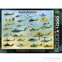 Eurographics Askeri Helikopterler 1000 Parça Puzzle