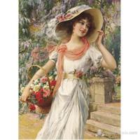 Çiçekçi Kız (1000 Parça)