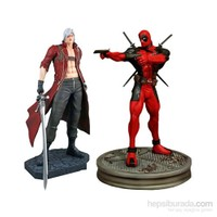 Marvel Vs. Capcom: Dante Vs. Deadpool 1:4 Scale