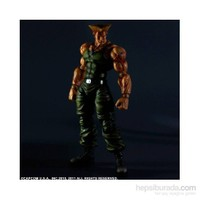 Super Street Fighter Guile Play Arts Kai Figür