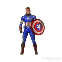 The Avengers Captain America 1/4 Battle Damaged Figure