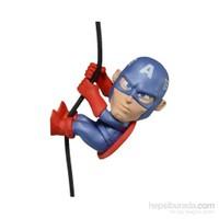 Scalers Captain America Kablo Tutucu Mini Figür