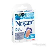 Nexcare Aqua 360 14lü karışık Yara Bandı ( Suya Dayanıklı)