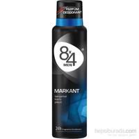 8X4 Sprey Deodorant Markant 150 Ml Erkek