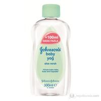 Johnsons Baby Oil/Yağ Aloe 300 Ml