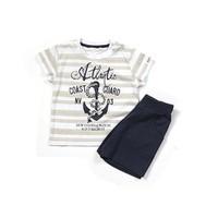 Zeyland Erkek Çocuk Lacivert T-Shirt-Şort Takım - K-61M1MCO76
