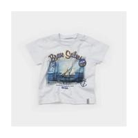 Zeyland Erkek Çocuk Beyaz T-Shirt - K-61M1MKZ53