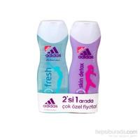 Adidas Fresh Duş Jeli 250 Ml + Detox Duş Jeli 250 Ml Set