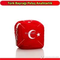 AutoCet Türk Bayragı Peluş Anahtarlık 3350a