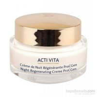 Monteil Acti-Vita ProcGen Night Regenerating Creme 50 Ml
