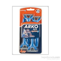 Arko Men Tıraş Bıçağı System 3 Blister 4'lü