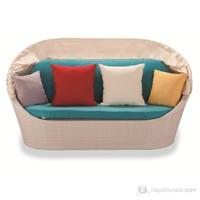 Sette LG013 Kırık Beyaz Tenteli Yatak