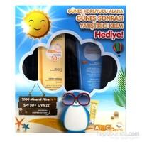 Bioderma AbcDerm Spf 50+ Güneş Koruma Kremi ve 100 ml Güneş Sonrası Kremi Set