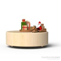Wooderful Life Kızaklı Noel Baba Müzik Kutusu