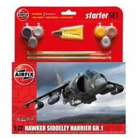 Airfix Kit Uçak Orta Harrıer Gr1 (1/72 Ölçek)