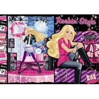 Clementoni Çocuk Barbie Rockin Style (60 Parça)