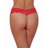 Redhotbest Pearly Lace String