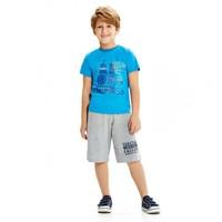 Modakids Wonder Kids Erkek Çocuk Baskılı T-Shirt 010-1602-015