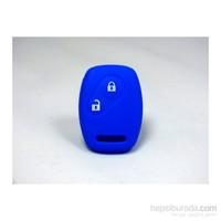 Gsk Honda Anahtar Kabı Koruyucu Kılıf 2 Tuş ( Mavi )