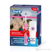 Oral-B Şarj Edilebilir Diş Fırçası Professional Care 500 D16 (Sınırlı Sayıda Pembe Renkli)