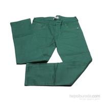 Süzgün Pantolon 6435-4 Gabardin Yeşil