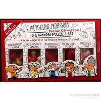 Professor 5X Wooden Puzzle Set