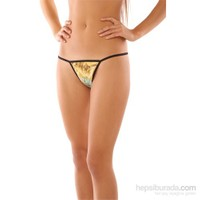 Redhotbest Indian Printed Fantezi T-String