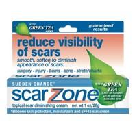 Scar Zone Yeşil Çay İçerikli Yara İzi Kremi