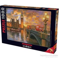 Anatolian Londra Da Günbatımı - 1000 Parça Puzzle