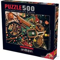 Anatolian Klasik Sporlar - 500 Parça Puzzle