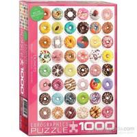 Eurographics Puzzle 1000 Parça Donut Tops