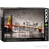 Eurographics 1000 Parça Puzzle New York City Brooklyn Bridge
