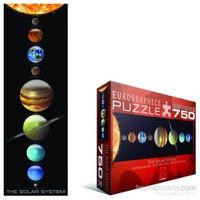 Eurographics 750 Parça Güneş Sistemi Panorama Puzzle