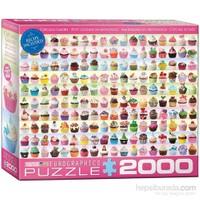 Eurographics Cupcakes Koleksiyonu 2000 Parça Puzzle