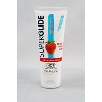 Superglide Strawberry Su Bazlı Yenilebilir Çilekli Kayganlaştırıcı Jel 75 ml