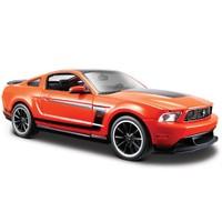 Maisto Ford Mustang Boss 302 1:24 Model Araba Turuncu