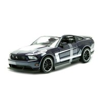 Maisto 1:24 Ford Mustang Boss 302 Model Araba Siyah