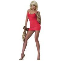Redhotbest Zincirli Süper Mini Sexy Mini Dress