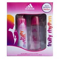 Adidas Edt Fruity Rhythm 50 Ml Kadın + Deodorant Set