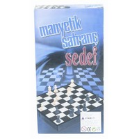Sedef Manyetik Satranç