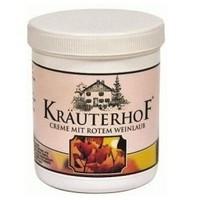 Krauterhof Kırmızı Üzüm Yaprağı Bacak Masaj Kremi 100 Ml