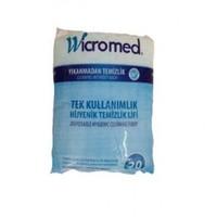 Wicromed Tek Kullanımlık Hijyenik Temizlik Lifi 20 Adet