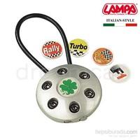 Lampa Formula Aluminyum Anahtarlık 5 Değişken Logolu