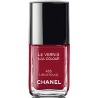 Chanel Le Vernis Nails 455 Lotus Rouge