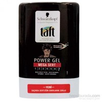 Taft Power Mega Sert Saç Jölesi 250 Ml