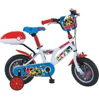 "Ümit 12"" Transformers 1204 Çelik Kadro V Fren 1 Vites Siyah Kırmızı Çocuk Bisikleti"