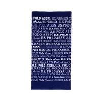 U.S. Polo Assn. Erkek Mavi Havlu